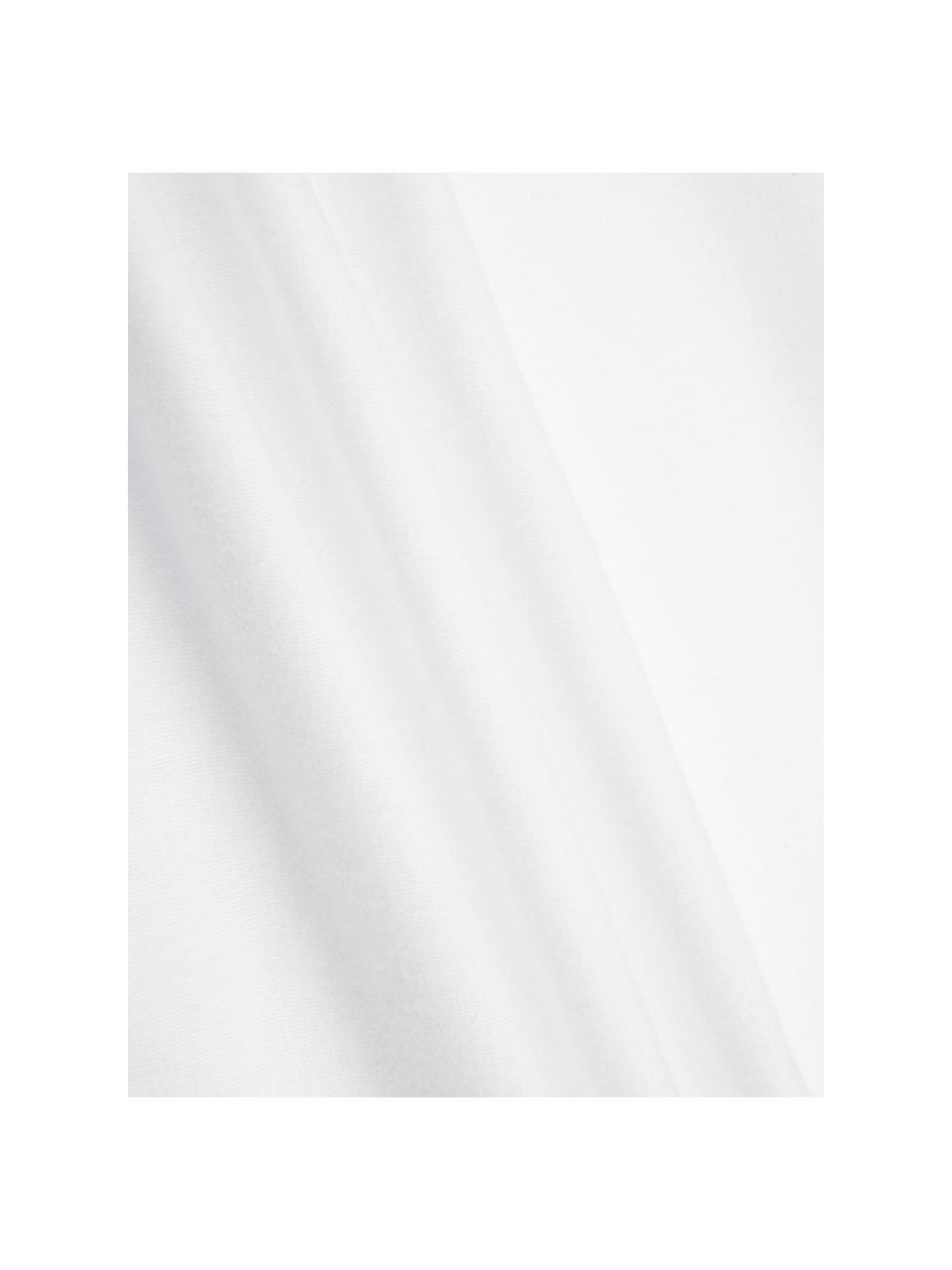 Flanell-Kissenbezüge Biba in Weiß, 2 Stück, Webart: Flanell Flanell ist ein k, Weiß, 40 x 80 cm