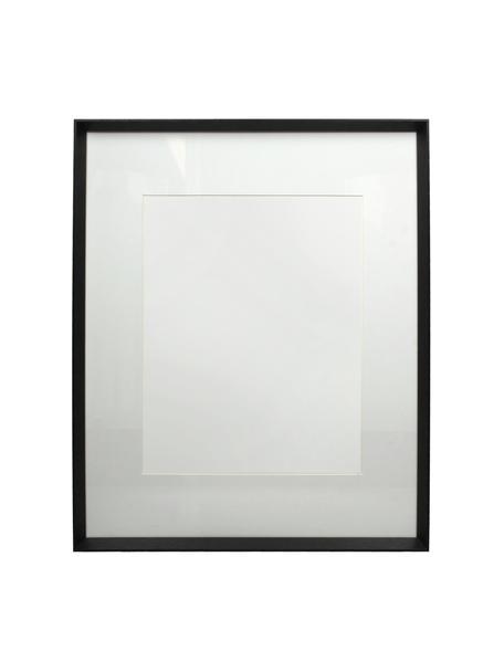 Fotolijstje Apatite, Gecoat hout, Zwart, 40 x 50 cm