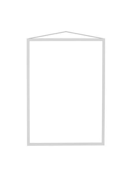 Portafoto da parete Colour Frame, Cornice: acciaio verniciato a polv, Grigio, 30 x 42 cm