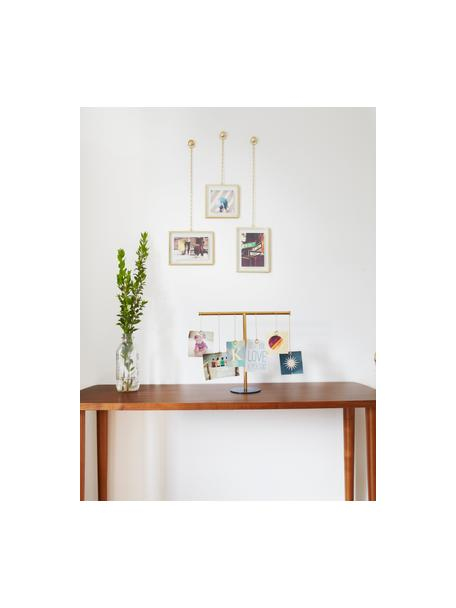 Fotolijst set Strass, 3-delig, Mat messingkleurig, Set met verschillende formaten