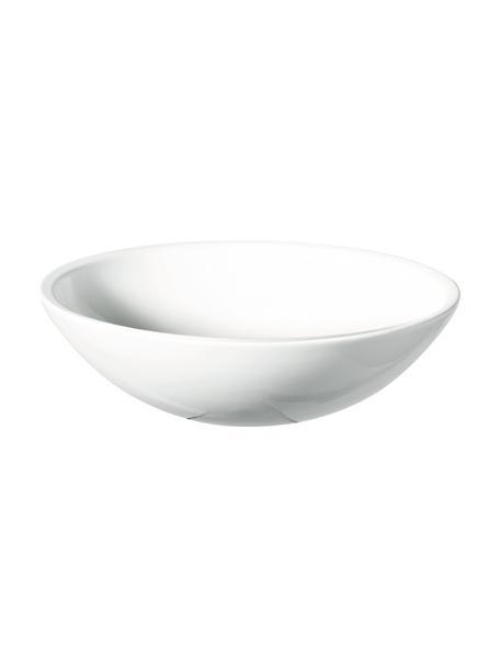 Ciotola in gres bianco Grande, Ø 25 cm, Gres, Bianco, Ø 25 x Alt. 8 cm