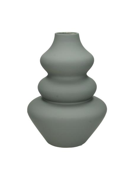 Vaso in gres Thena, Gres, Grigio, Ø 15 x Alt. 22 cm
