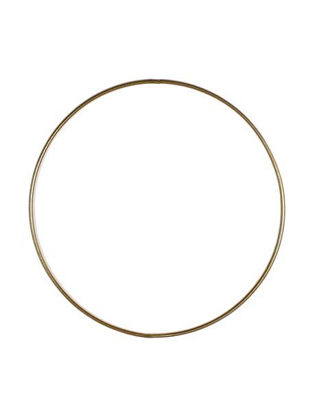 Anello in metallo dorato Rondon, Metallo verniciato, Ottonato, Ø 20 cm