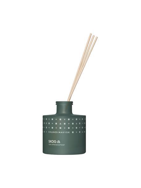 Diffuser Skog (dennennaalden, dennenappels, berkensap), Houder: glas, Doos: karton, Donkergroen, 8 x 10 cm