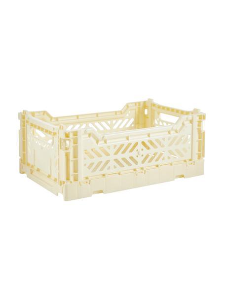 Cajas pegables pequeñas Banana, Plástico reciclado, Crema, An 27 x Al 11 cm