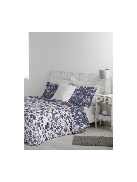Fundas de almohada Lines, 2uds., 50x80cm, 100%algodón El algodón da una sensación agradable y suave en la piel, absorbe bien la humedad y es adecuado para personas alérgicas, Azul oscuro, rosa, An 50 x L 80 cm