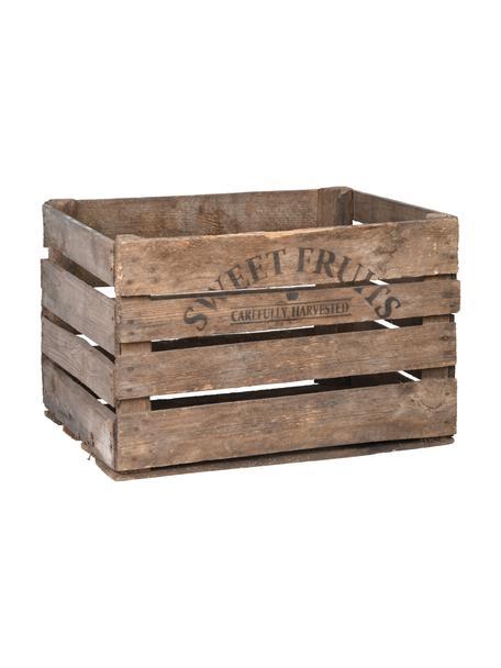 Skrzynia ogrodowa Sandy, Drewno sosnowe, drewno świerkowe, Brązowy, S 52 x W 30 cm