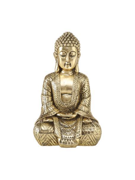 Figura decorativa Jarven, Plástico, Dorado, An 18 x Al 30 cm