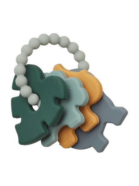 Bijtring Penny, 100% siliconen, Multicolour, 8 x 8 cm