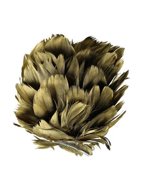 Baumclip Flower Ø 15 cm, Goldfarben, Ø 15 cm