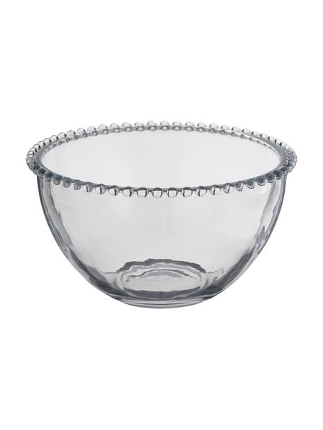 Glas-Schüssel Perles, Ø 21 cm, Glas, Transparent, Ø 21 cm
