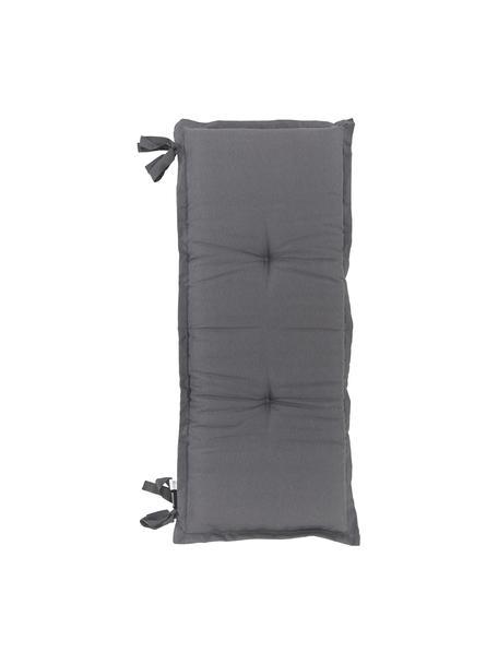 Poduszka na ławkę Panama, Tapicerka: 50% bawełna, 45% polieste, Antracytowy, S 48 x D 150 cm