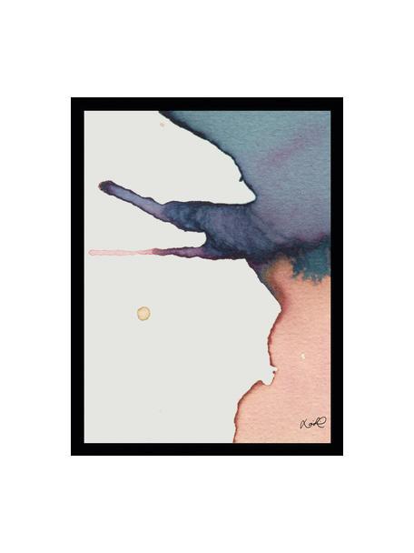 Stampa digitale incorniciata Paint II, Immagine: stampa digitale, Cornice: telaio in materiale sinte, Multicolore, L 30 x A 40 cm