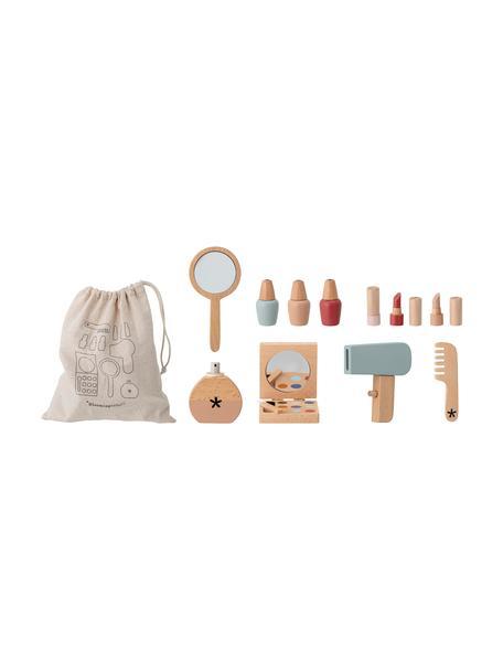 Spiel-Set Daisy Make-up, 11-tlg., Holz, Acryl, Mehrfarbig, 22 x 22 cm
