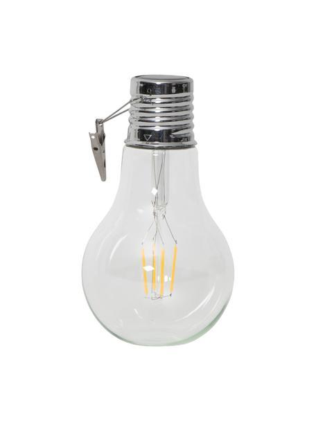Lámparas solares Fille, 2uds., Casquillo: acero inoxidable, Transparente, Ø 10 x Al 18 cm