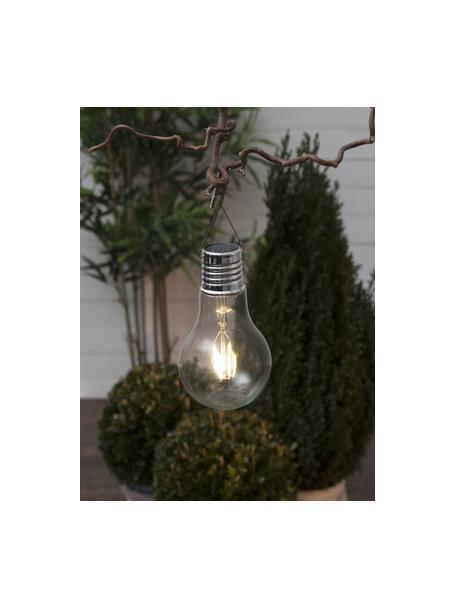 Lampada solare a sospensione Fille 2 pz, Lampadina: vetro, Trasparente, Ø 10 x Alt. 18 cm