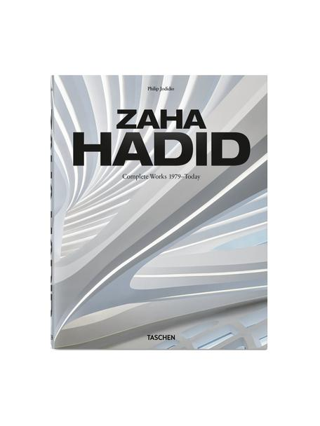 Album Zaha Hadid: Complete Works. 1979 - today, Papier, twarda okładka, Szary, wielobarwny, S 23 x D 29 cm