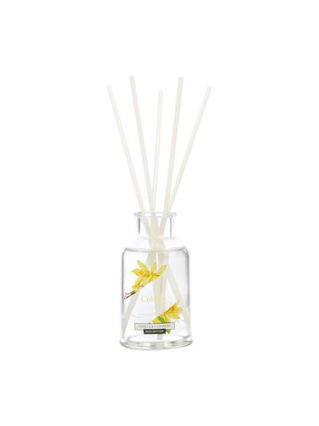 Diffuser Colony (vanille, jasmijn, cederhout), Houder: glas, Vanilla, jasmijn, cederhout, Ø 6 x H 20 cm