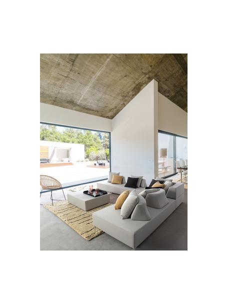 Sofá lounge para exterior Piper, Estructura: aluminio galvanizado en c, Tapizado: olefina (100%polipropile, Arena, An 200 x F 90 cm