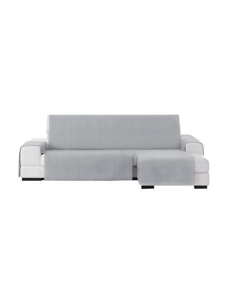 Copertura divano angolare Levante, 65% cotone, 35% poliestere, Grigio, Larg. 150 x Lung. 290 cm