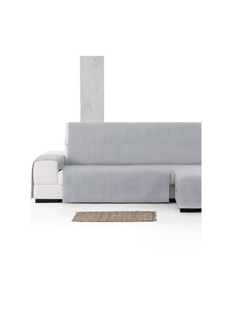 Narzuta na sofę narożną Levante, 65% bawełna, 35% poliester, Szary, S 150 x D 290 cm