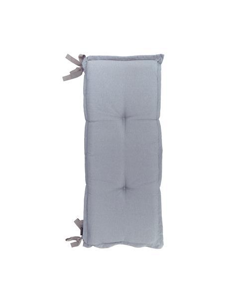 Poduszka na ławkę Panama, 50% bawełna, 45% poliester, 5% inne włókna, Jasny szary, S 48 x D 120 cm