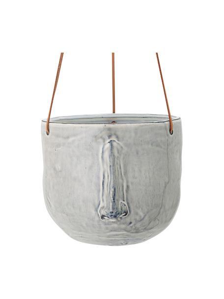 Portavaso pensile in gres Sama, Grigio, Ø 17 x Alt. 16 cm