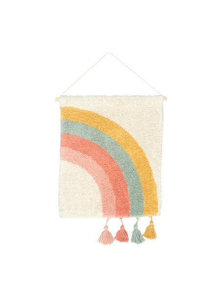 Dekoracja ścienna z bawełna Arco, 100% bawełna, Wielobarwny, S 50 x D 60 cm