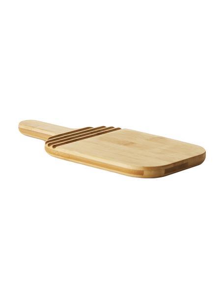 Deska do krojenia z  drewna bambusowego Monazi, Drewno bambusowe, Drewno bambusowe, D 27 x S 13 cm
