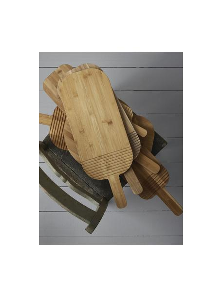 Bamboe snijplank Monazi, L 27 x B 13 cm, Bamboehout, Bamboehoutkleurig, 13 x 27 cm