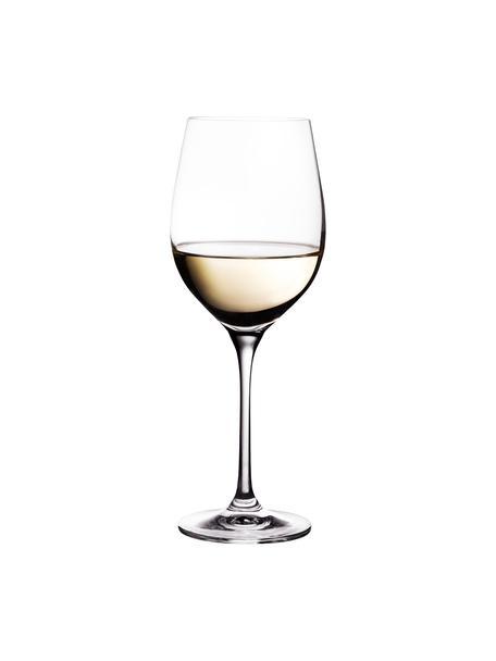 Weissweingläser Harmony aus glattem Kristallglas, 6 Stück, Edelster Glanz – das Kristallglas bricht einfallendes Licht besonders stark. So entsteht ein märchenhaftes Funkeln, das jede Weinverkostung zu einem ganz besonderen Erlebnis macht., Transparent, Ø 9 x H 22 cm