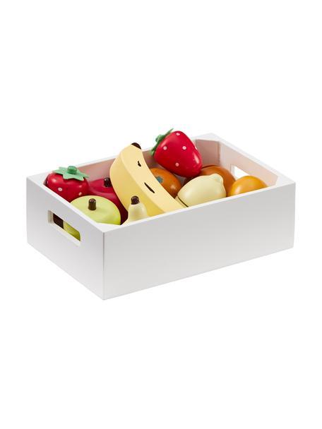 Spielzeug-Set Box of Fruits, Holz, Mehrfarbig, Set mit verschiedenen Grössen