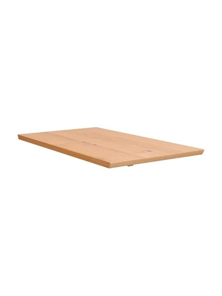 Ansteckplatte Melfort, 50 x 90 cm, Eichenholz, Eichenholz, B 50 x T 90 cm