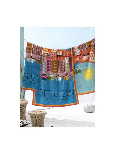 Ręcznik plażowy Riviera, Wielobarwny, S 90 x D 170 cm
