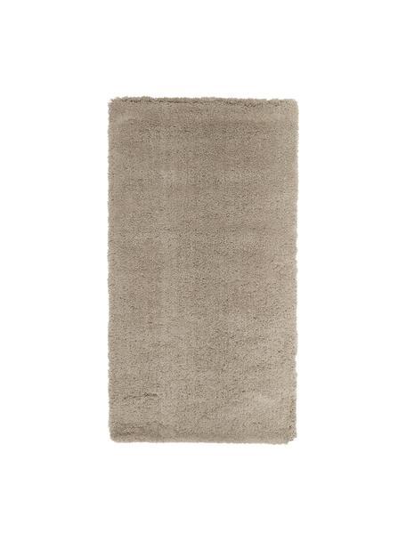 Flauschiger Hochflor-Teppich Leighton in Beige, Flor: Mikrofaser (100% Polyeste, Beige-Braun, B 80 x L 150 cm (Größe XS)
