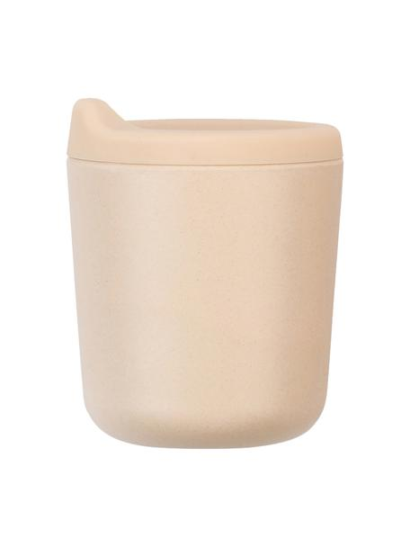 Trinkbecher Bambino, Bambusfasern, Melamin, lebensmittelecht BPA, PVC und Phthalate frei, Lachsfarben, Ø 7 x H 9 cm