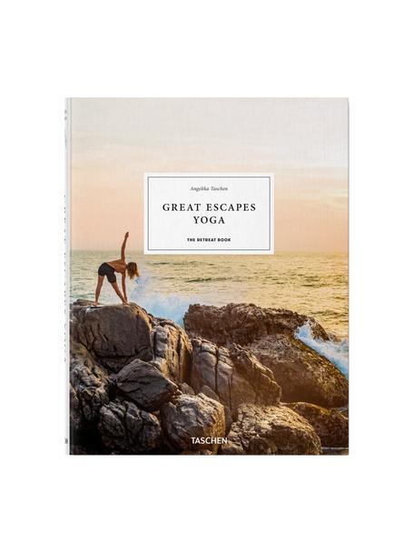 Geïllustreerd boek Great Escapes Yoga, Papier, hardcover, Multicolour, 24 x 31 cm