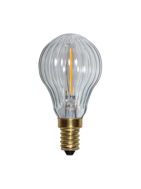 Lampadina E14, 0,8 W, dimmerabile, bianco caldo 1 pz, Lampadina: vetro, Trasparente, Ø 5 x Alt. 9 cm
