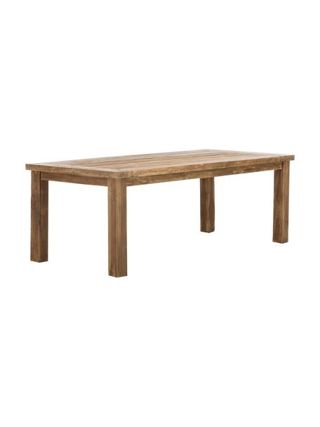 Tavolo in legno massiccio di teak Bois, Legno di teak massiccio non trattato, Teak, Larg. 200 x Prof. 100 cm