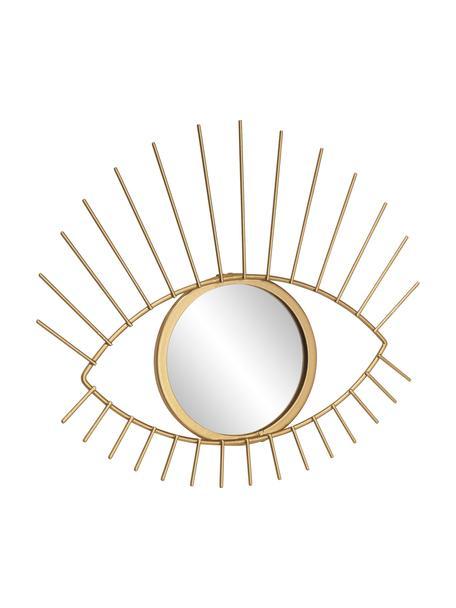 Espejo de pared redondo Auge, Espejo: cristal, Marco: dorado Espejo: cristal, An 27 x Al 31 cm
