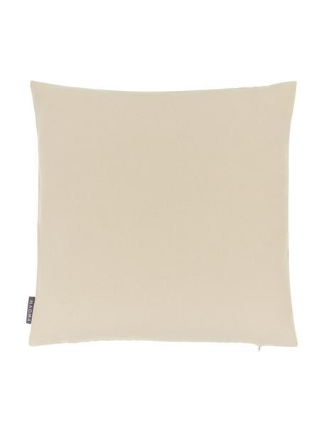 Federa arredo da interno color sabbia Blopp, Dralon (100% acrilico), Color sabbia, Larg. 45 x Lung. 45 cm