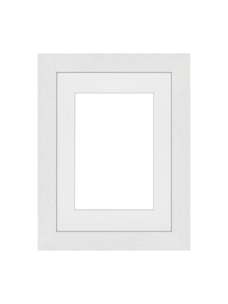 Bilderrahmen Apollon, Rahmen: Monterey-Kiefernholz, lac, Front: Glas, Rückseite: Mitteldichte Holzfaserpla, Weiß, 13 x 18 cm