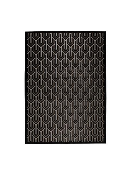 Dywan z wypukłą strukturą Beverly, Czarny, beżowy, szary, S 170 x D 240 cm (Rozmiar M)