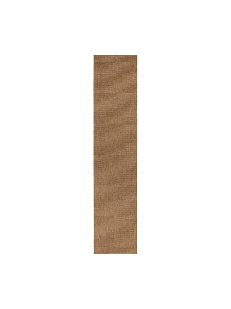 In- & Outdoor-Läufer Nala in Sisal-Optik, 100% Polypropylen, Braun, 80 x 350 cm