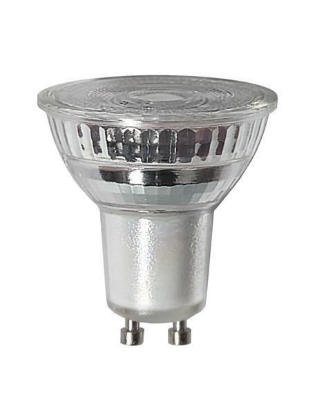 Bombilla regulable GU10, 4.5W, blanco cálido, 1ud., Ampolla: vidrio, Casquillo: aluminio, Transparente, Ø 5 x Al 5 cm