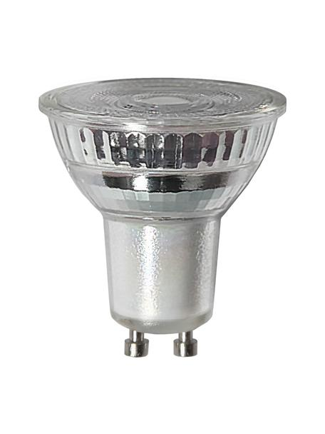 GU10 Leuchtmittel, 4.5W, dimmbar, warmweiß, 1 Stück, Leuchtmittelschirm: Glas, Leuchtmittelfassung: Aluminium, Transparent, Ø 5 x H 5 cm