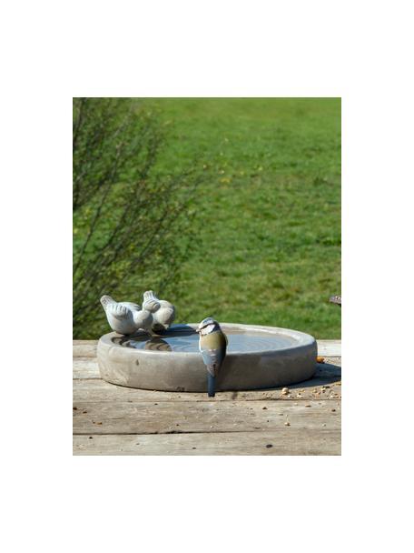 Poidełko dla ptaków Bettany, Beton, Szary, Ø 29 x W 11 cm
