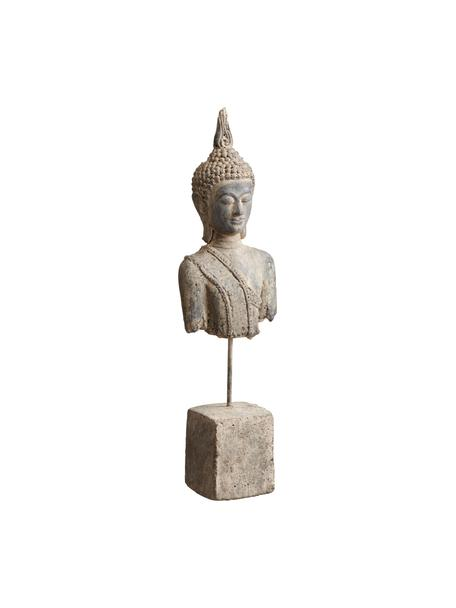 Dekoracja Buddha, Kamionka, Beżowy, S 7 x W 38 cm