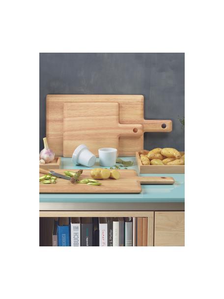 Tabla de cortar de madera Wood Light, Madera, Beige, L 53 x An 26 cm