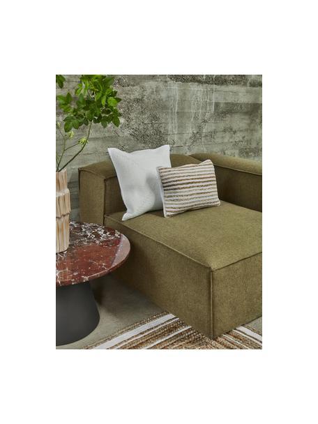 Poszewka na poduszkę z juty Feaka, Beżowy, kremowobiały, S 30 x D 50 cm